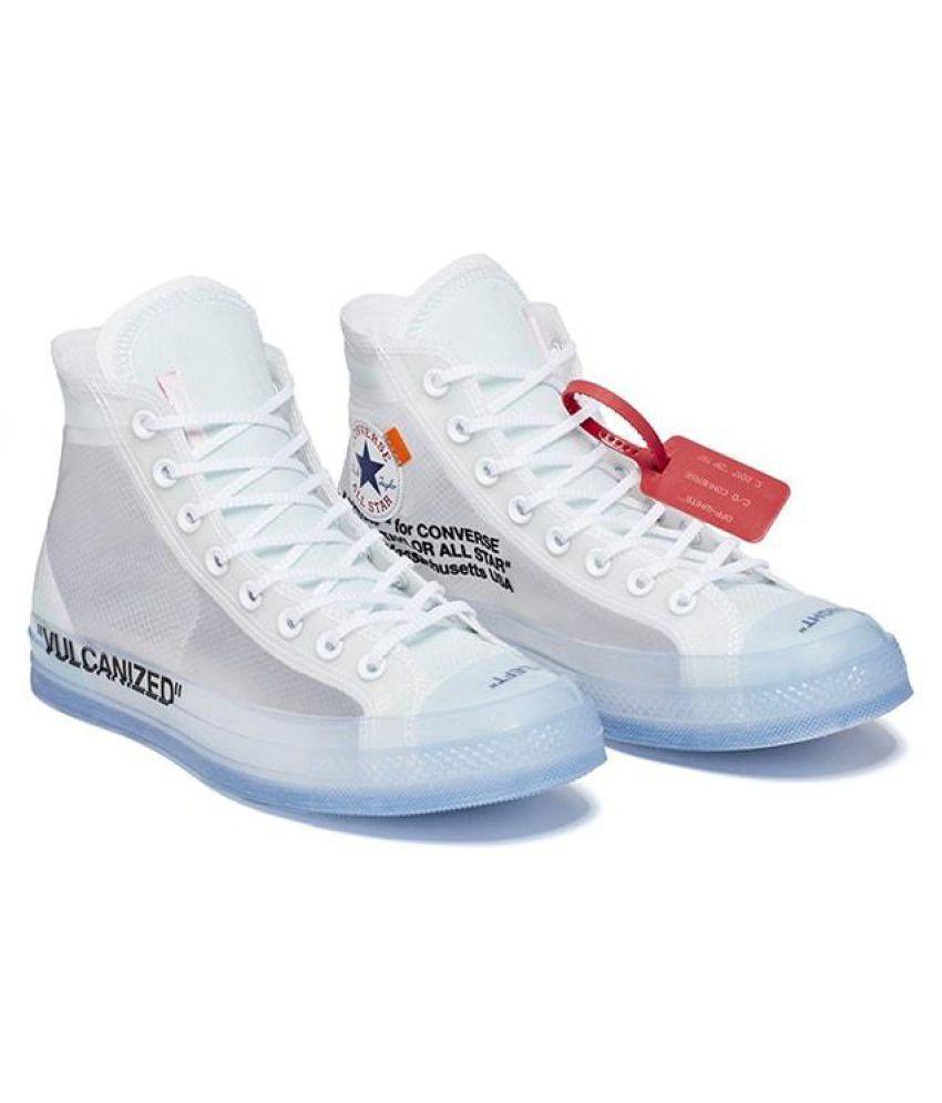 STAR vulcanized off White Running Shoes