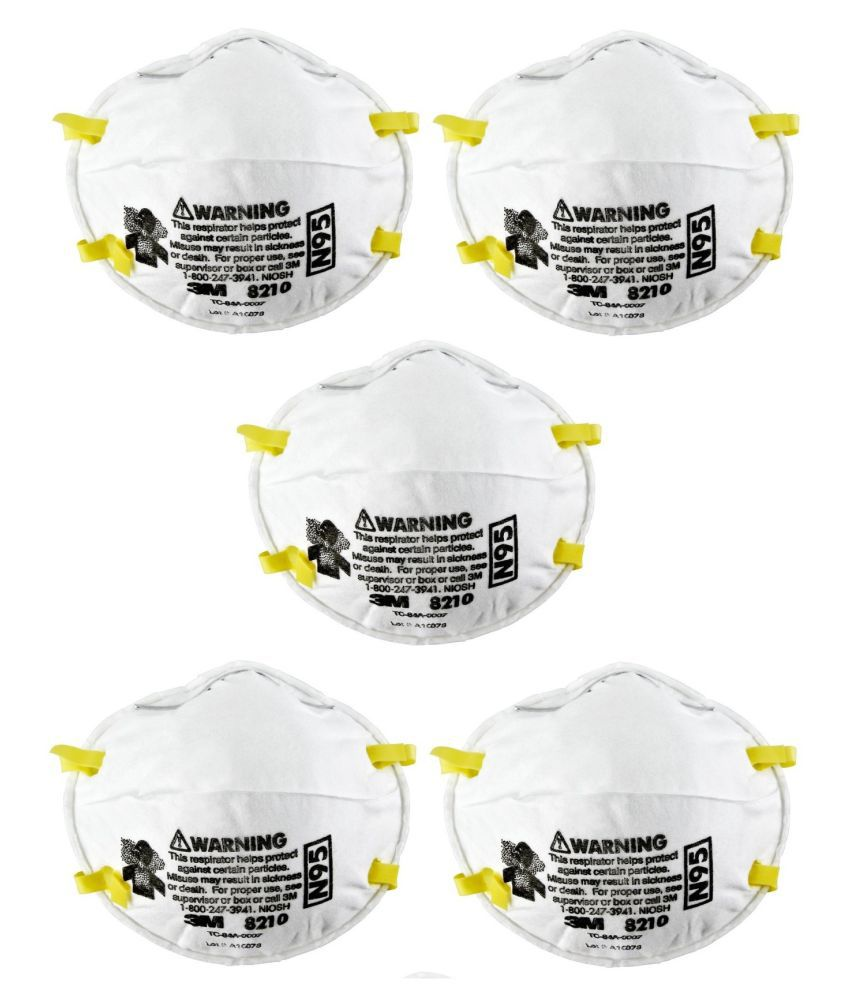 Buy Particulate 8210 Approved Niosh N95 Pack 3m Mask Respirator