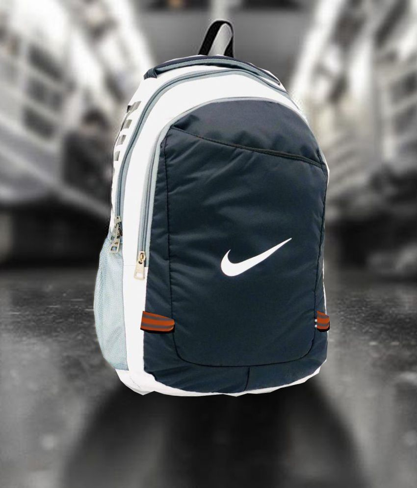 Nike Multi Color Polyester College Bag