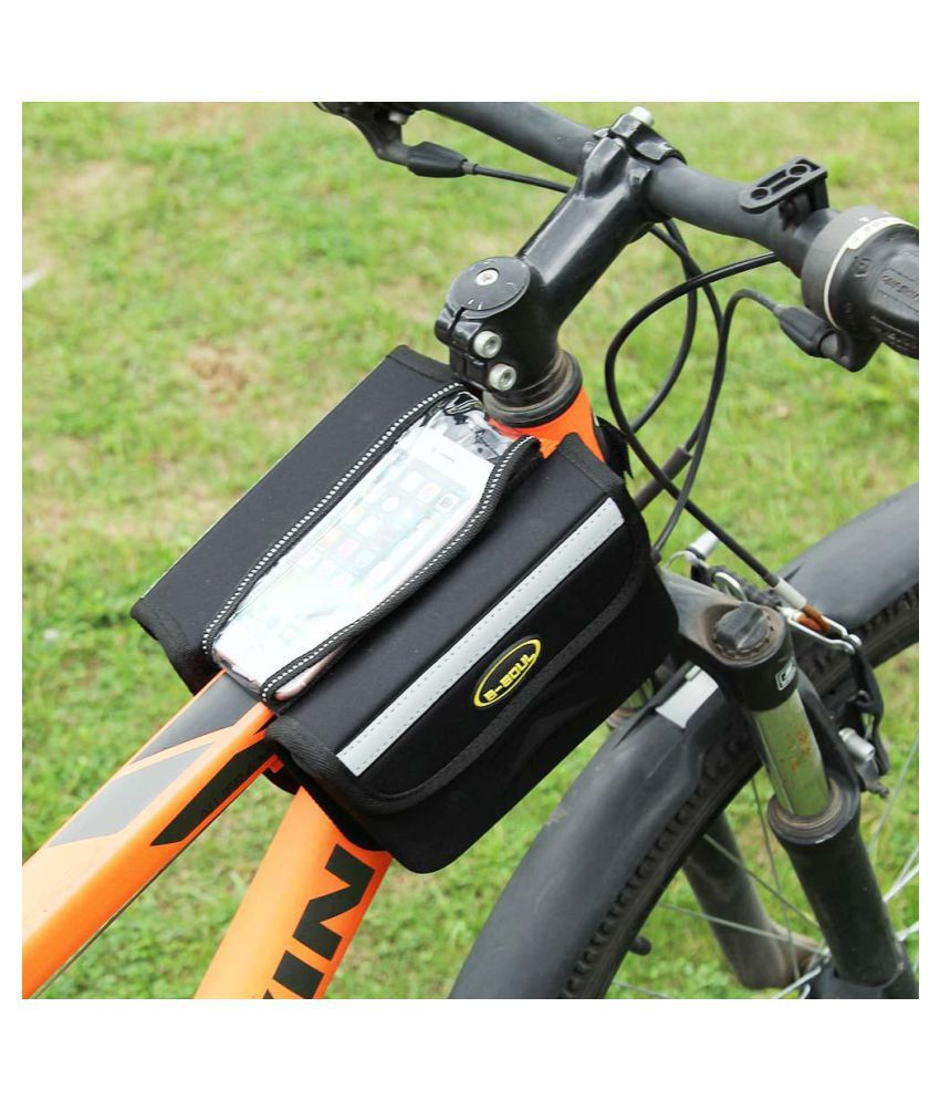 Mtb Mountain Road Bike Bicycle Front Frame Top Tube Bag 5 7in Phone Pouch Buy Online At Best Price On Snapdeal