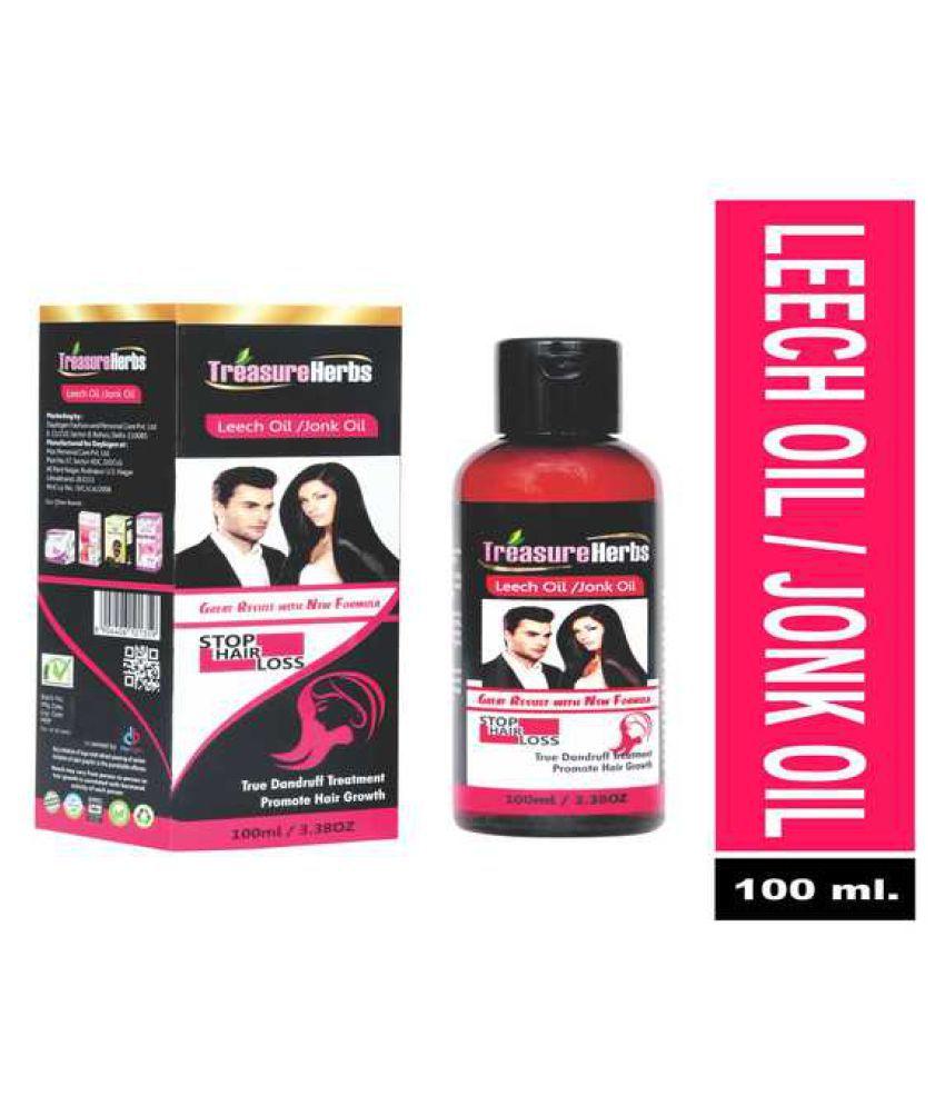 treasure herbs jonk oil leech oil hair oil 100 mL