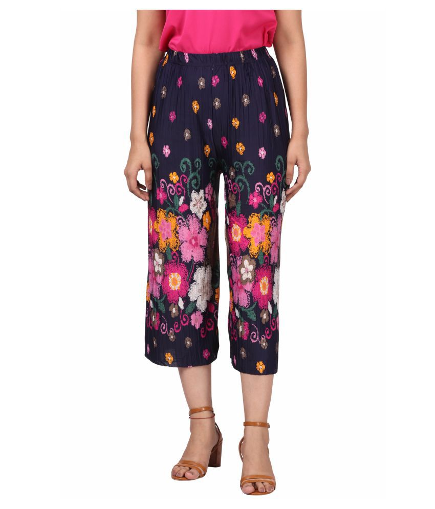Fit 'N' You Synthetic Palazzos