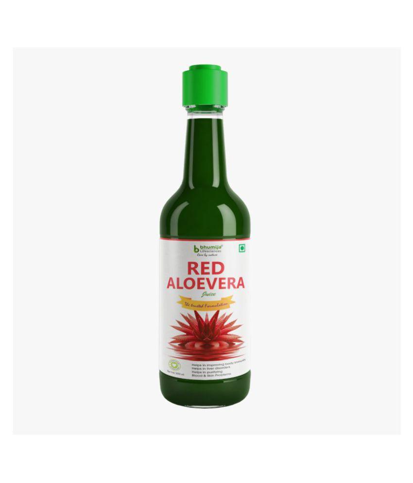 BHUMIJA LIFESCIENCES Red Aloevera Juice SDL 1