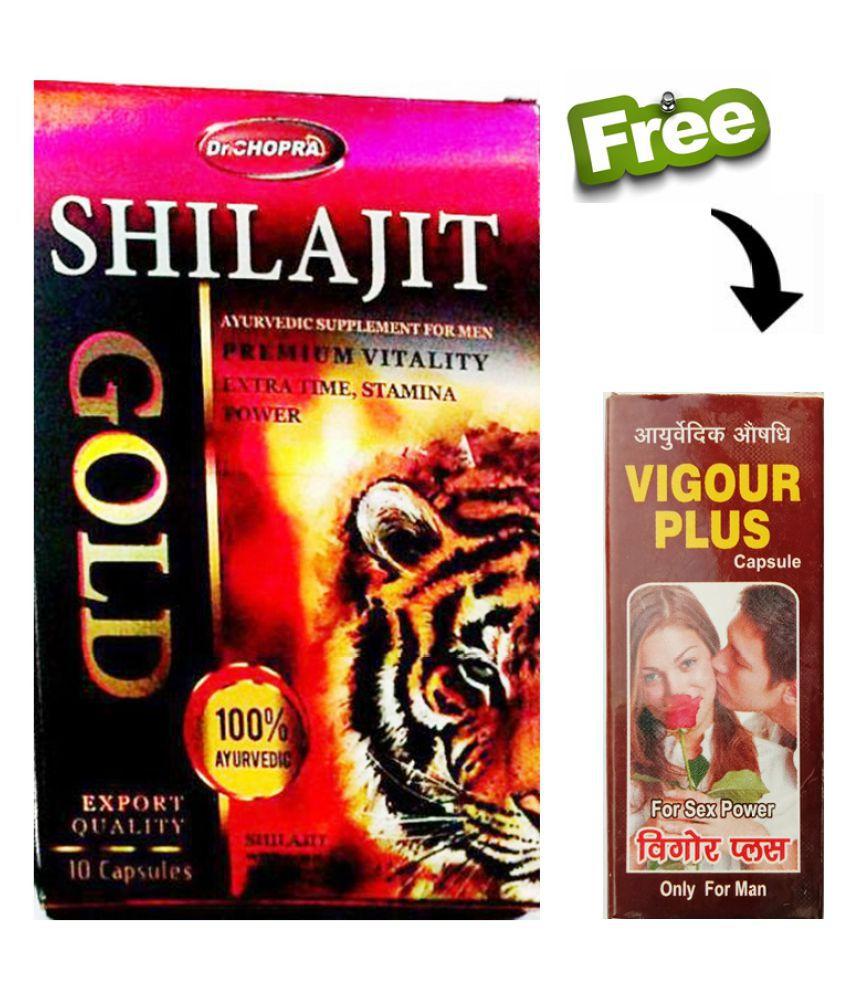 Herbal Care Free Vigour Plus Caps_Shilajit Gold Capsule 30 no.s