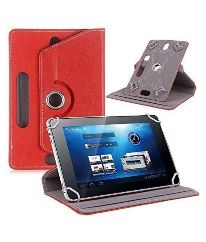 Samsung Galaxy Tab A 10.1 inch P580 Flip Cover By Cutesy Red