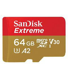 SanDisk 64 GB Class 10 Memory Card