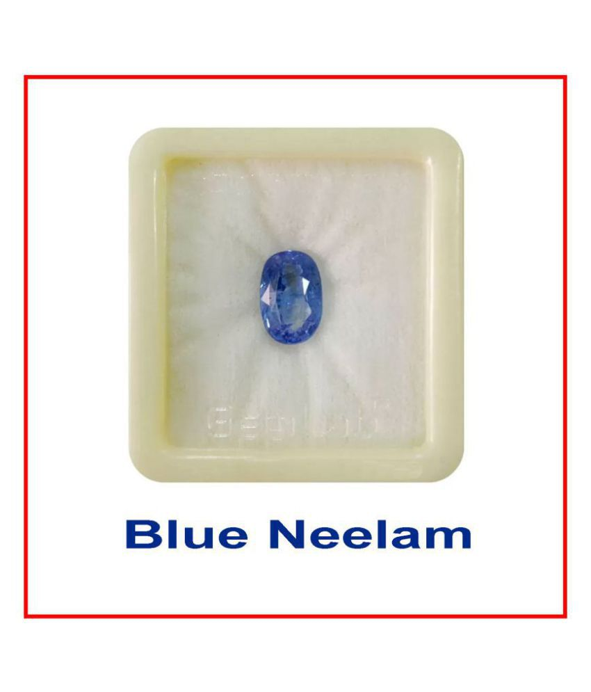 7.10 Ct Neelam (BlueSapphire) Natural Top Quality Gemstone