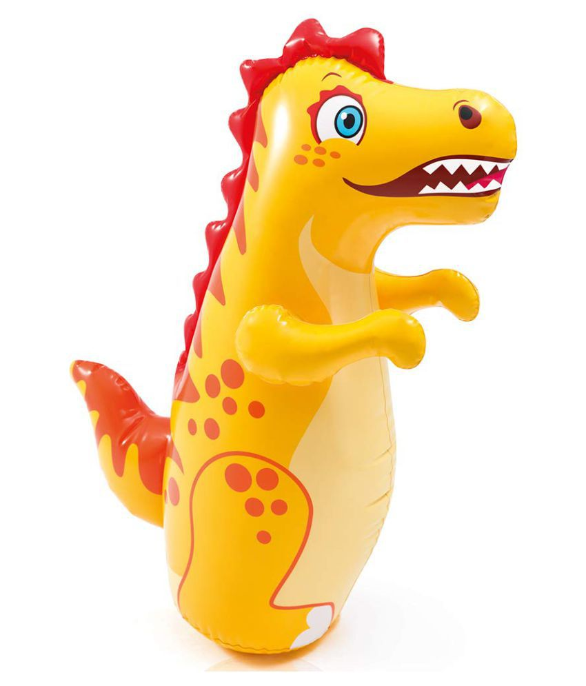 maruti enterprise Plastic Dragon Hit Me 3-D Toy Inflatable Bouncer for Kids 44669