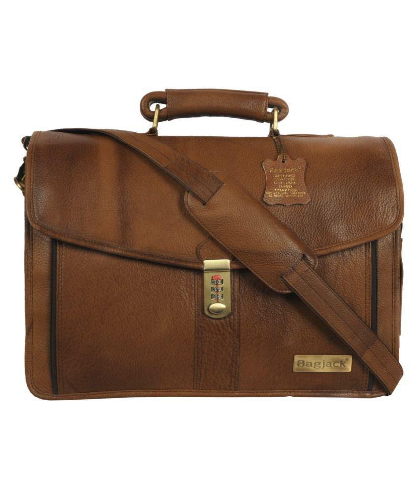 Bag Jack Eridanus Forsieri Brown Leather Office Messenger Bag