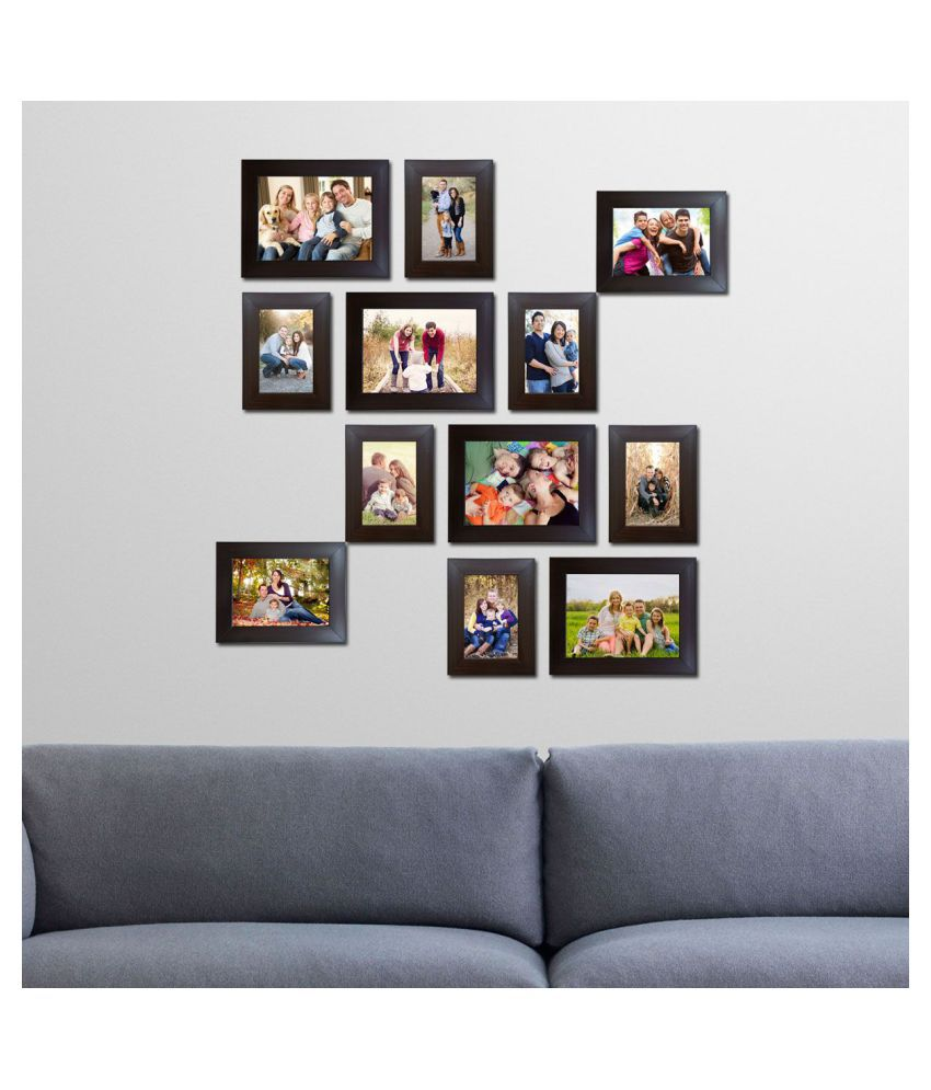 Decora Acrylic Brown Photo Frame Sets - Pack of 12