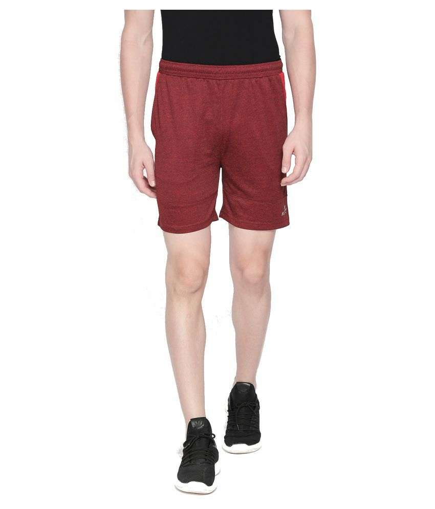 Fitz Red Shorts Single