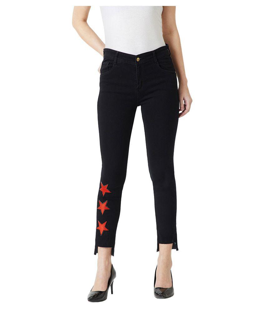 Miss Chase Denim Jeans - Black
