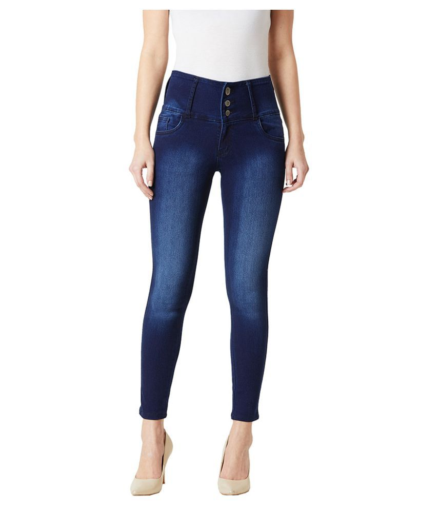 Miss Chase Denim Jeans - Navy