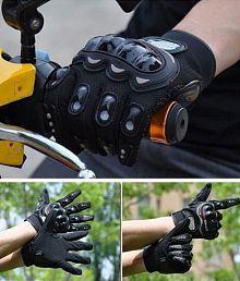 Pro biker / Pro Biker Biking Full Gloves Black Colour