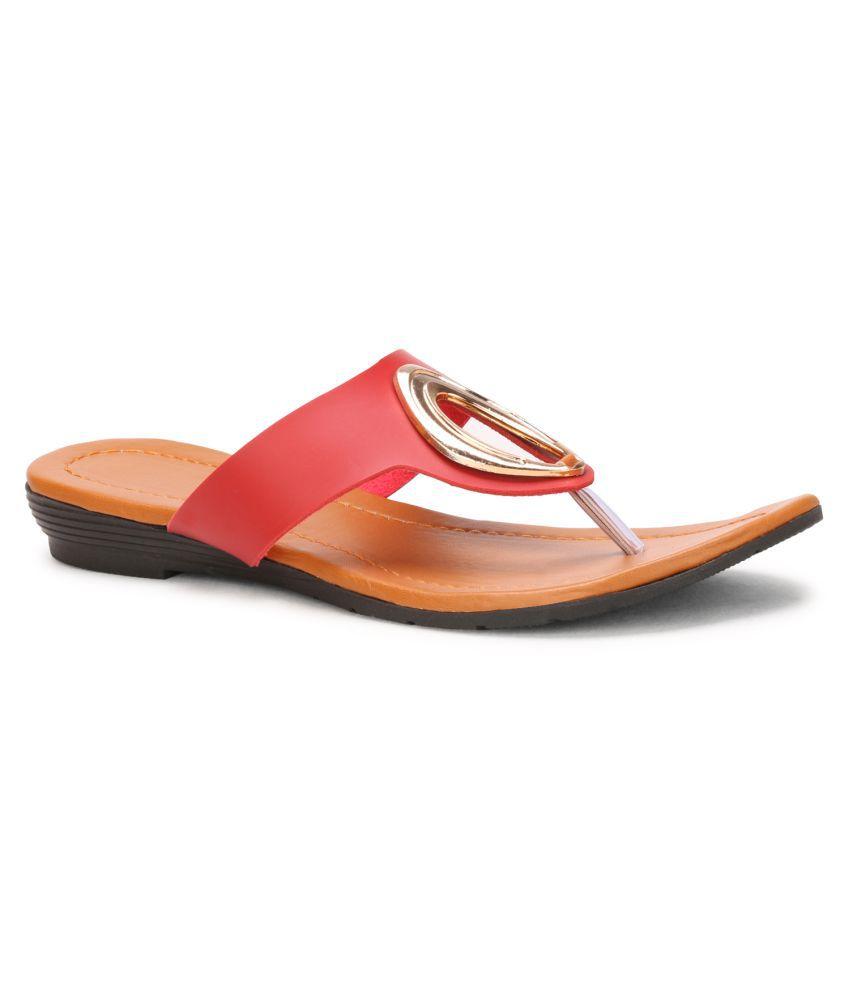 Koxko Red Slippers