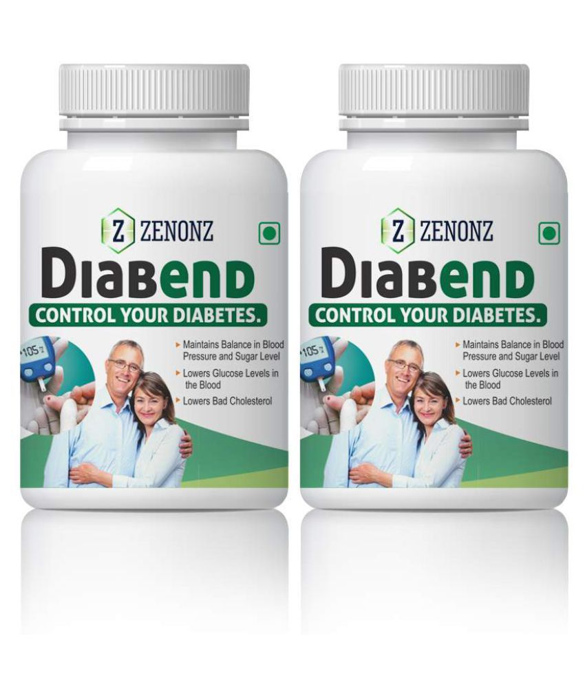zenonz Diabend Control Your Blood & Diabetes Capsule 500 mg Pack Of 1