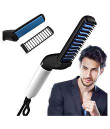 BK 10 IMPORT & EXPORT Beard Modelling Comb Hair Straightener ( Multi )