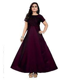 Plain Salwar Suits: Buy Plain Salwar Kameez Online at Low