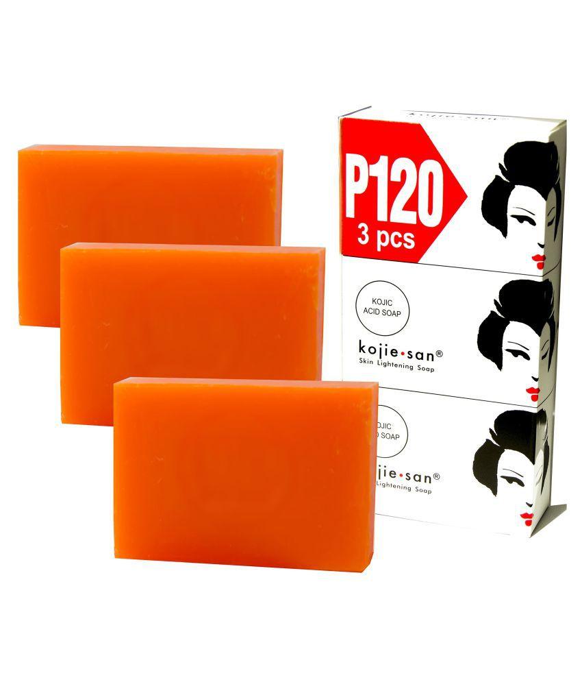 st luxuria Kojie San Skin Lightening Soap 100 g Pack of 3