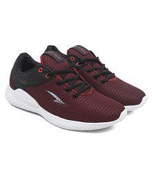 ASIAN IPL-03 Maroon Running Shoes