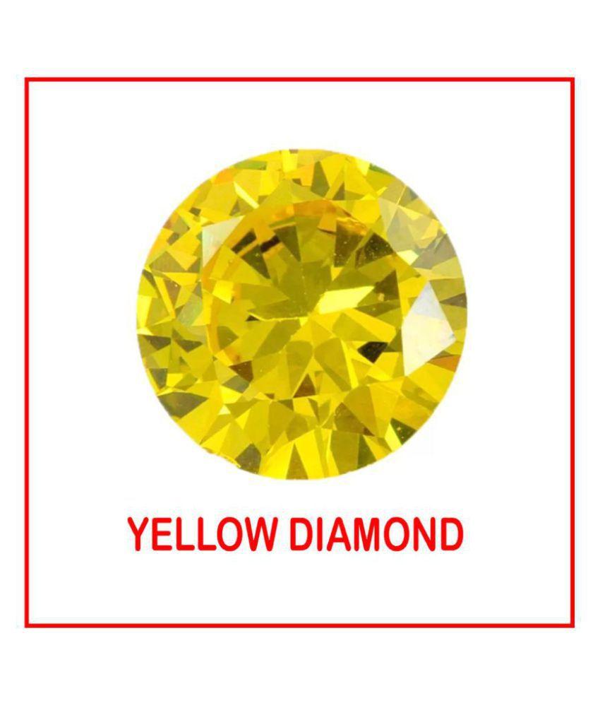 Maya Gems/Original Yellow Diamond Gemstone (Zircon)