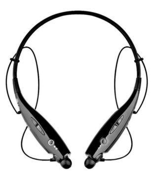 Gio Zone HBS 730 Neckband Wireless Earphones With Mic