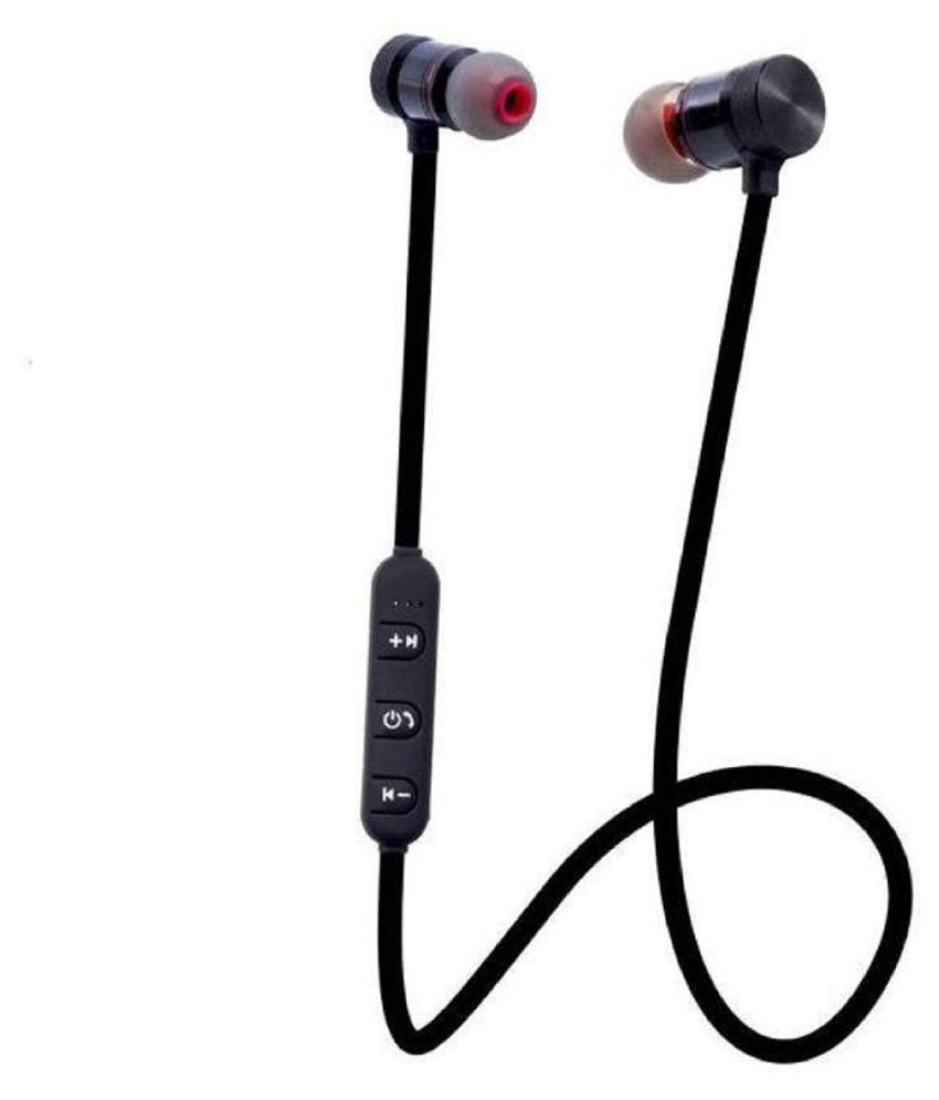 Mtr Magnetic Bluetooth Headset Red Bluetooth Headsets Online At Low Prices Snapdeal India