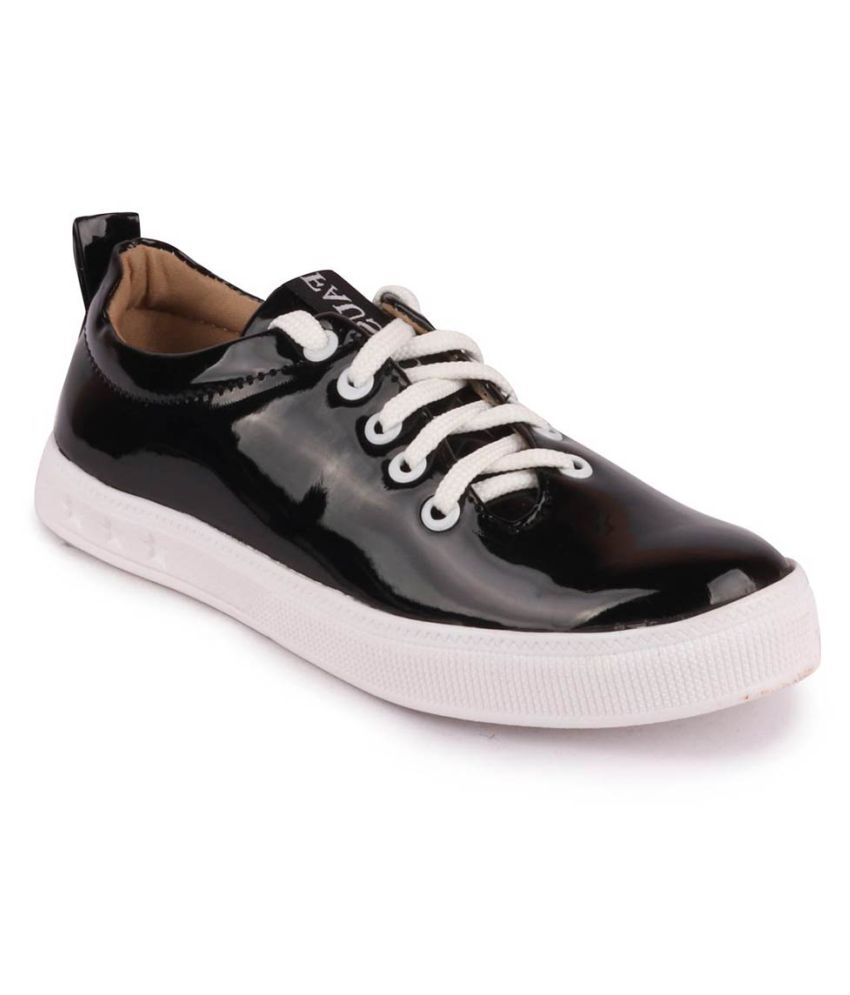 Fausto Black Casual Shoes