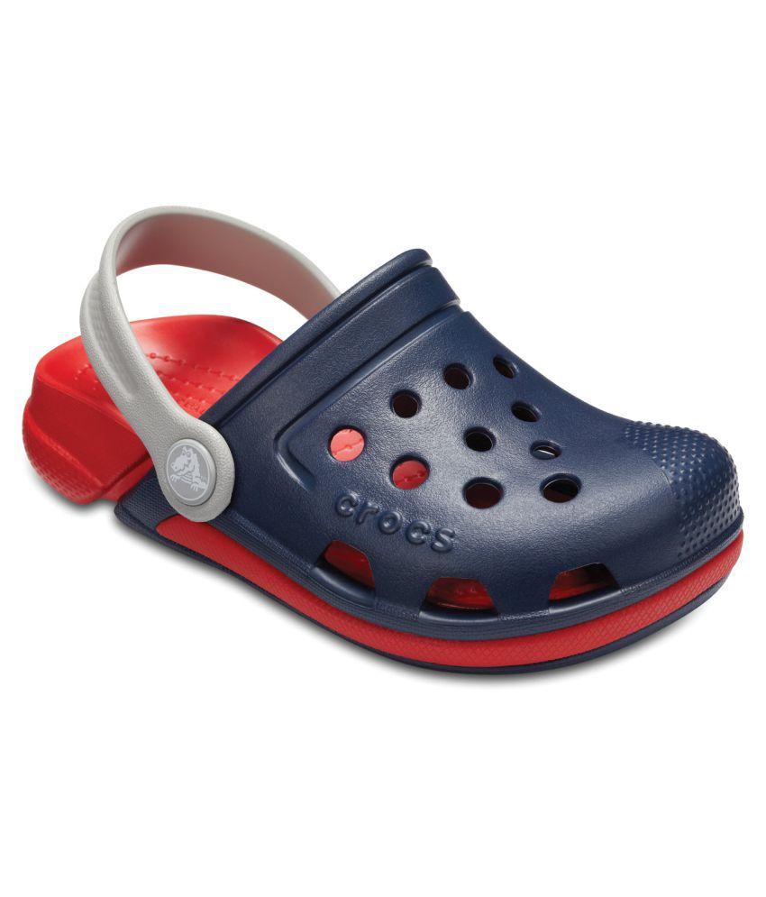 Crocs Electro III Navy Kids Clog