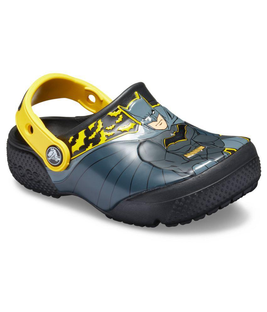 Crocs FunLab Iconic Batman Black Boys Clog