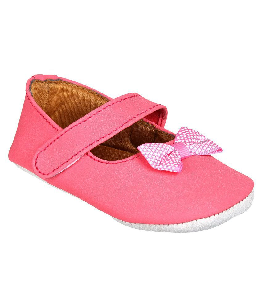 Beanz Pink Alvina Shoe For Girls