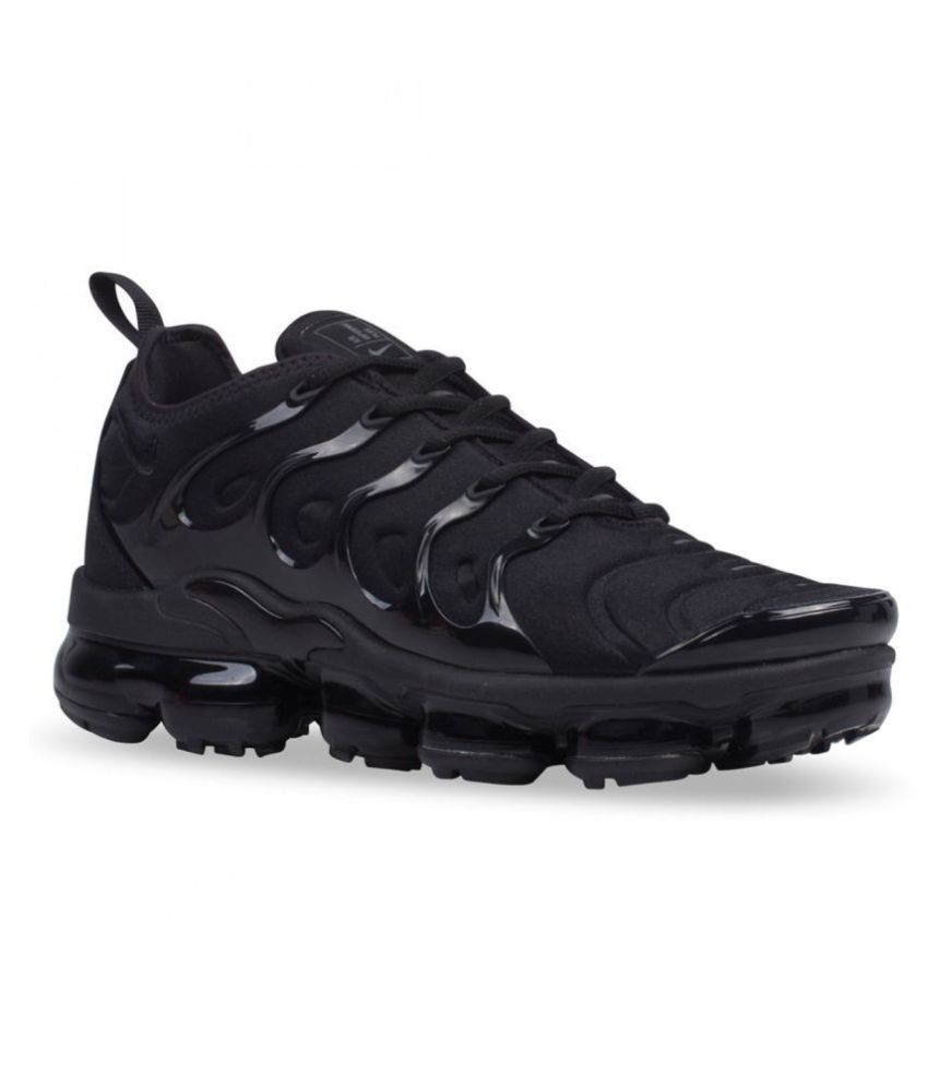 Nike Air Vapormax Plus Black Running Shoes