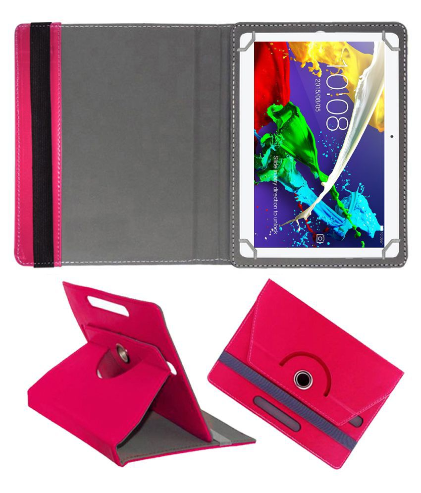 Lenovo Tab 2 A10-30 Flip Cover By FASTWAY Pink