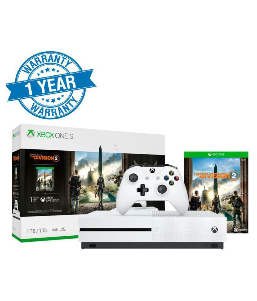 Microsoft XBox One S 1TB Console ( Tom Clancy's The Division 2 )