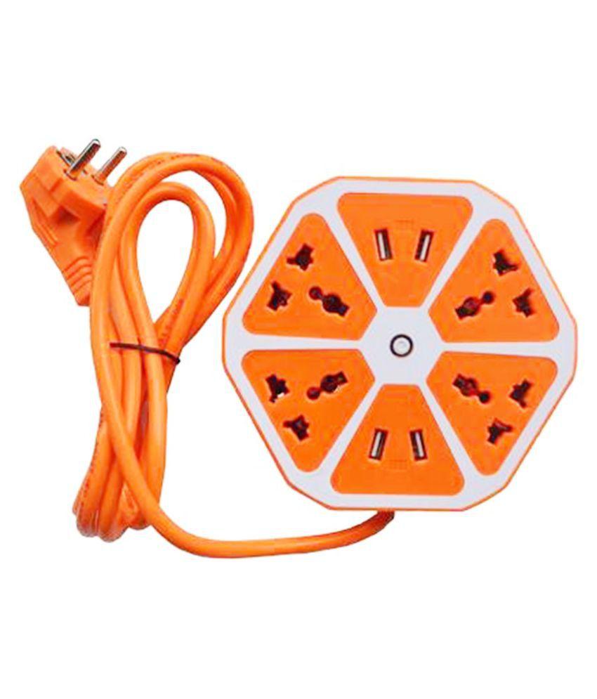 X EON IXE 150 HEXAGOAN 4 socket with USB Surge Protector