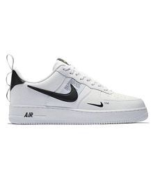Nike Air Force Utility White Running Shoes