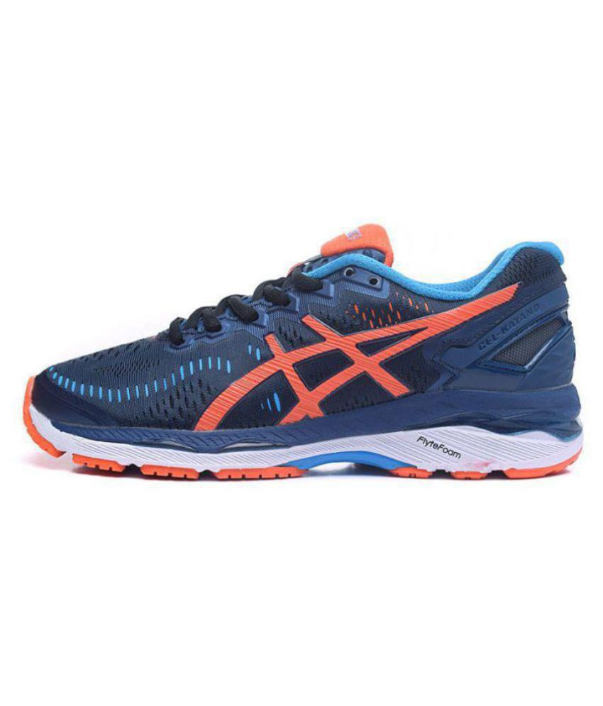 best sneakers 99e81 db1a4 Asics GEL KAYANO 23 Navy Running Shoes