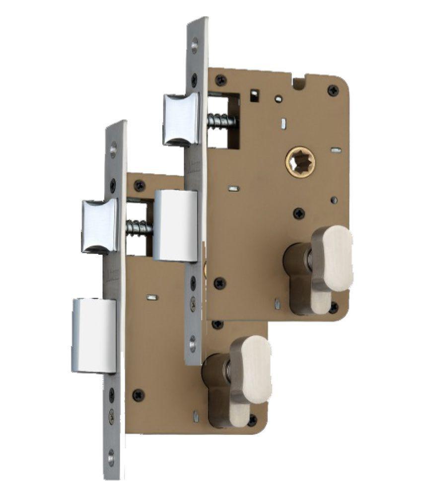 ATOM 60 mm Cylindrical Lock (Powder Coated Brown)