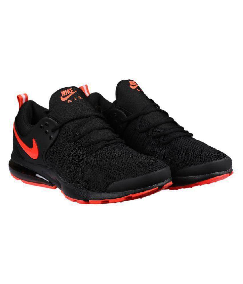 Nike PRESTO Black Running Shoes - Buy