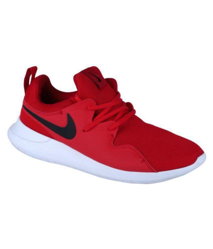 Nike TESSEN Red Running Shoes - Buy