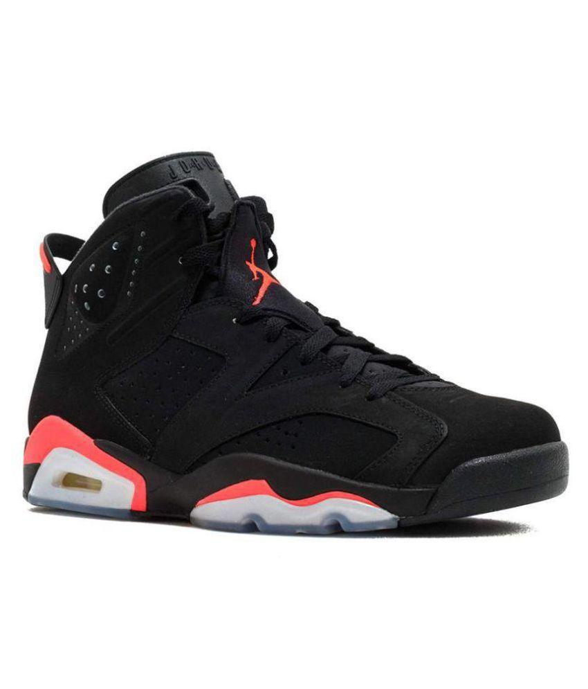 Nike JORDAN RETRO 6 Black Basketball