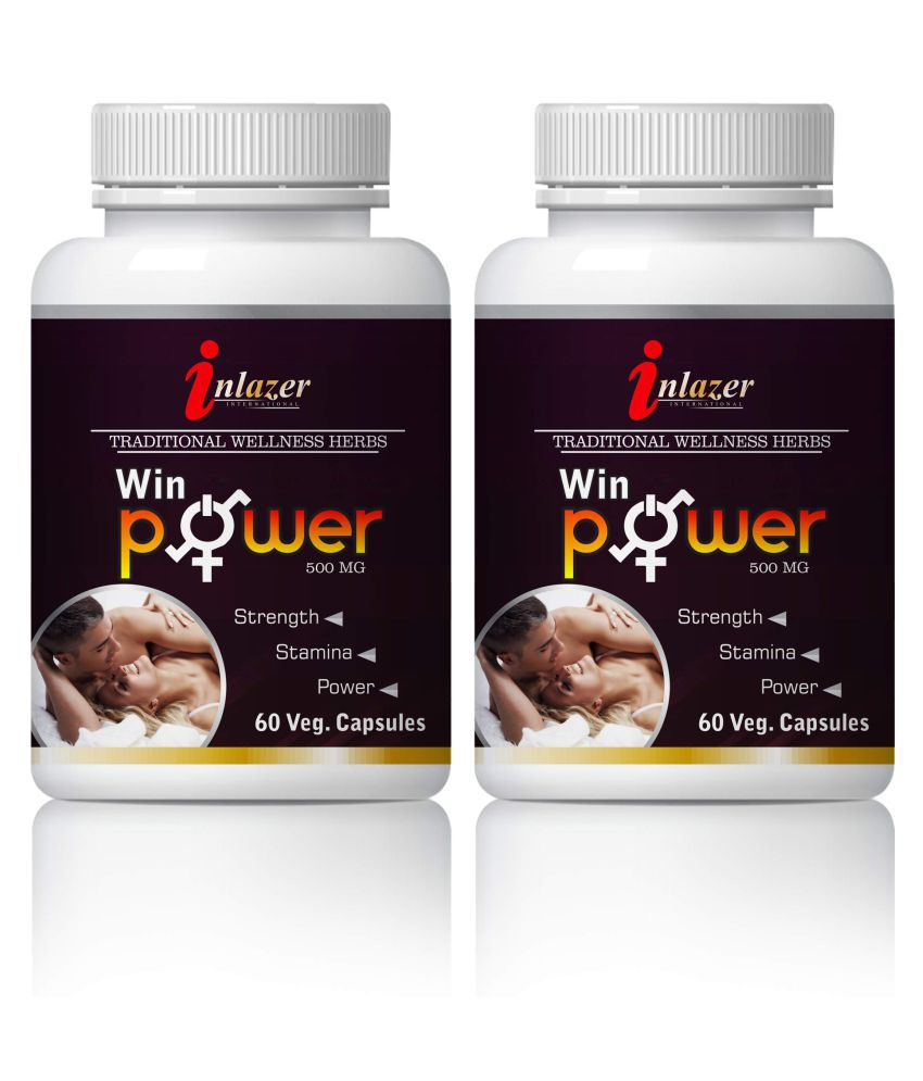 Inlazer Win Power Herbal Long Time Sex For Men Capsule 500 mg Pack Of 2