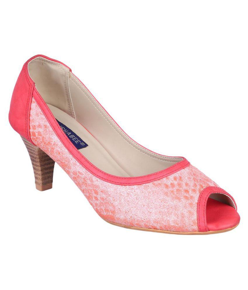 MSC Pink Platforms Heels
