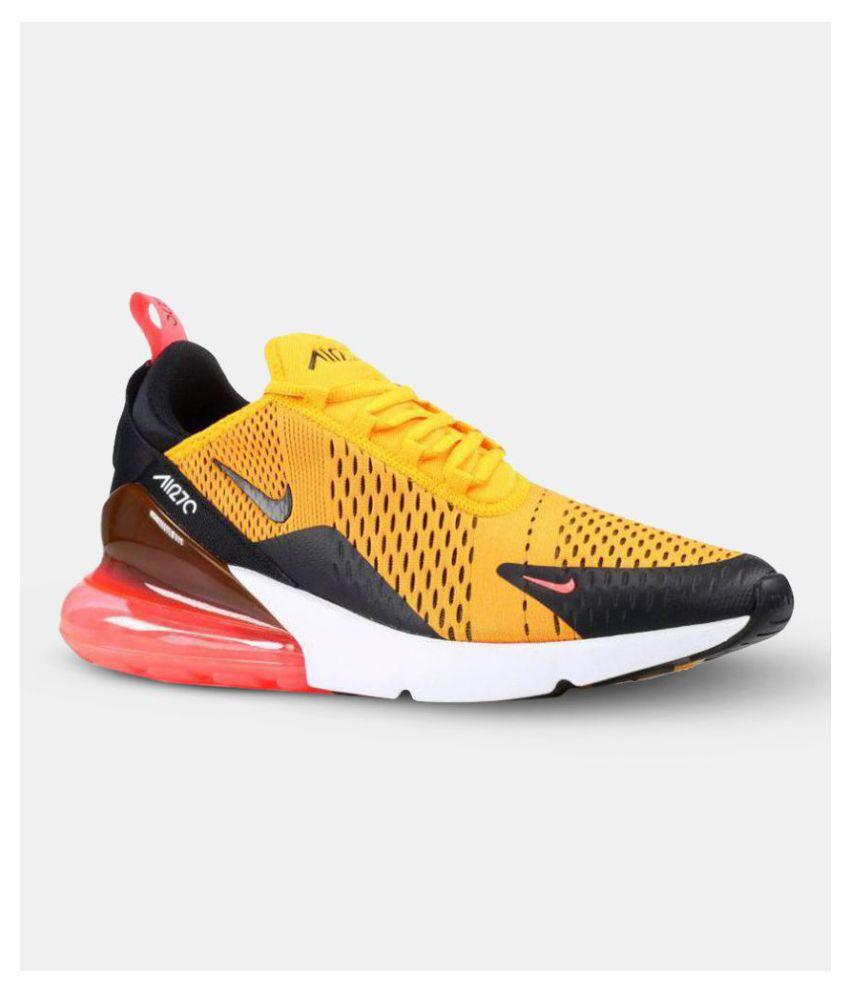 Nike AIR MAX 270 TIGER Yellow Running