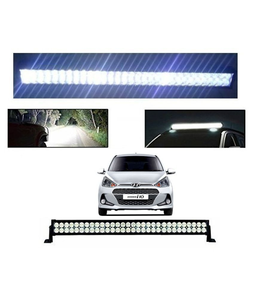 Trigcars Hyundai i10 Grand New Bar Light Fog Light 32Inch 120Watt