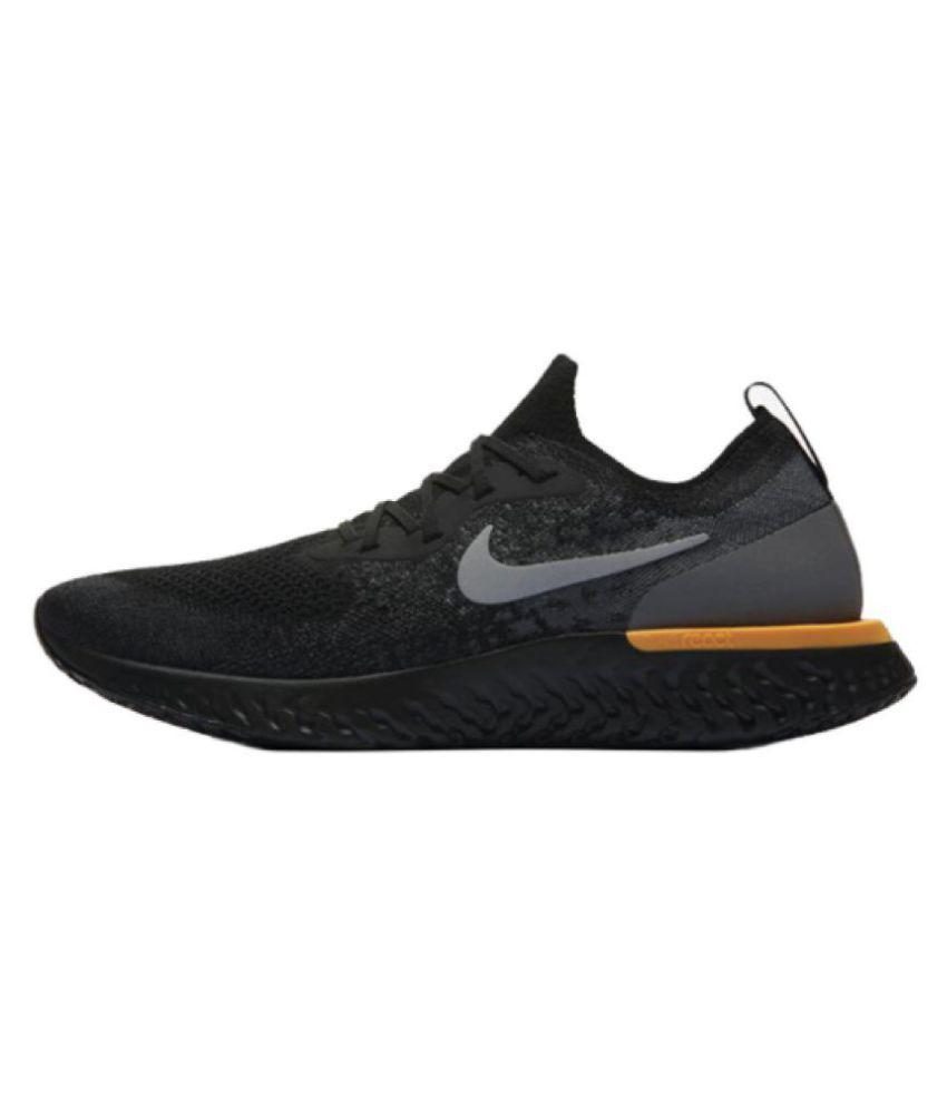 Nike EPIC REACT Black Running Shoes