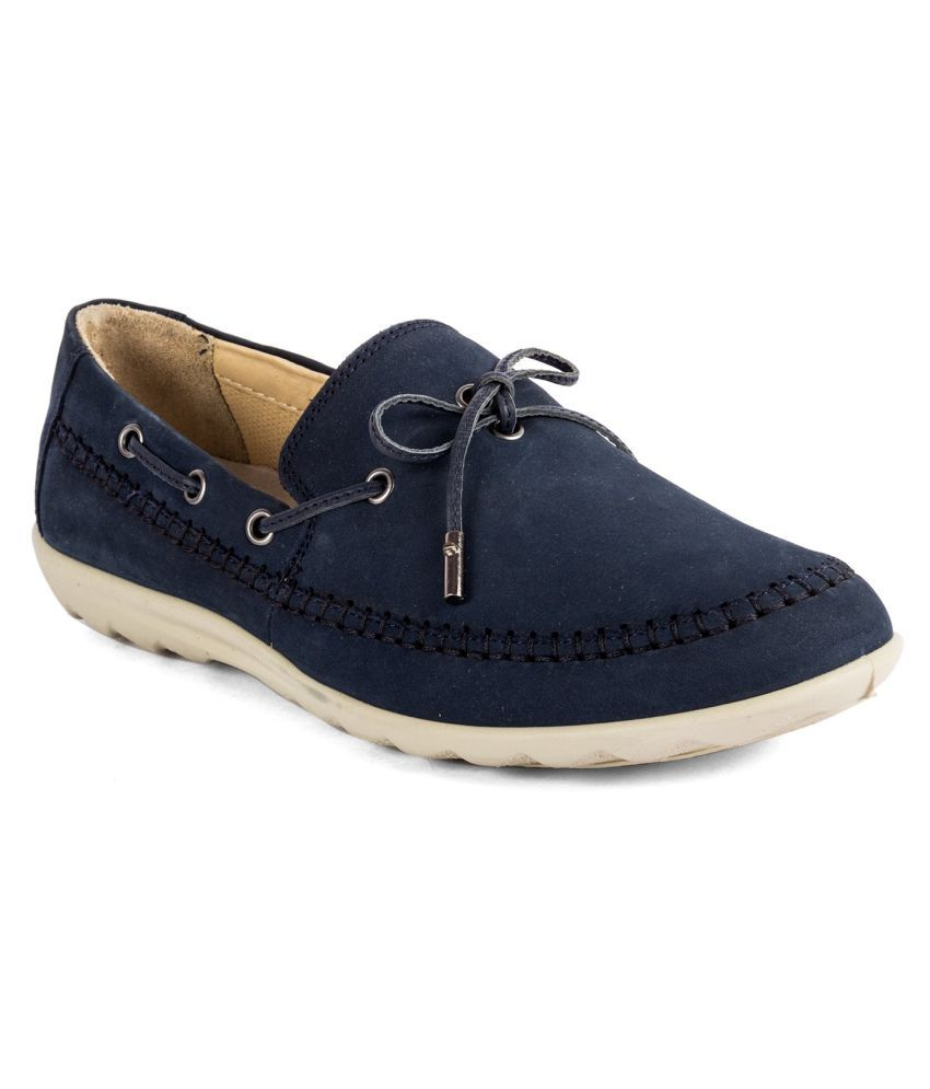 WOODLAND 1 Blue Casual Shoes