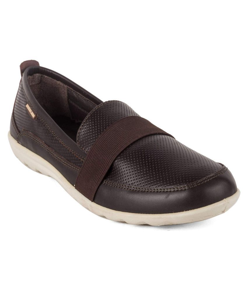 WOODLAND 1 Brown Casual Shoes
