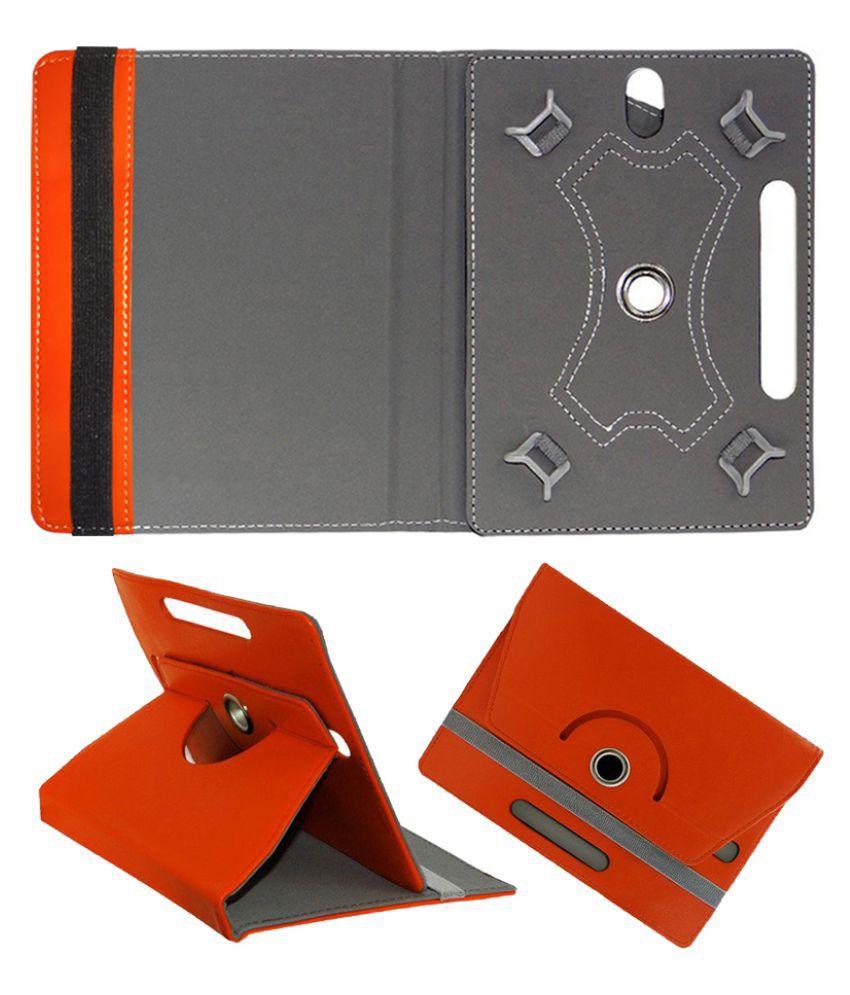 Swipe Slate Pro 4g 10.1 Flip Cover By Cutesy Orange