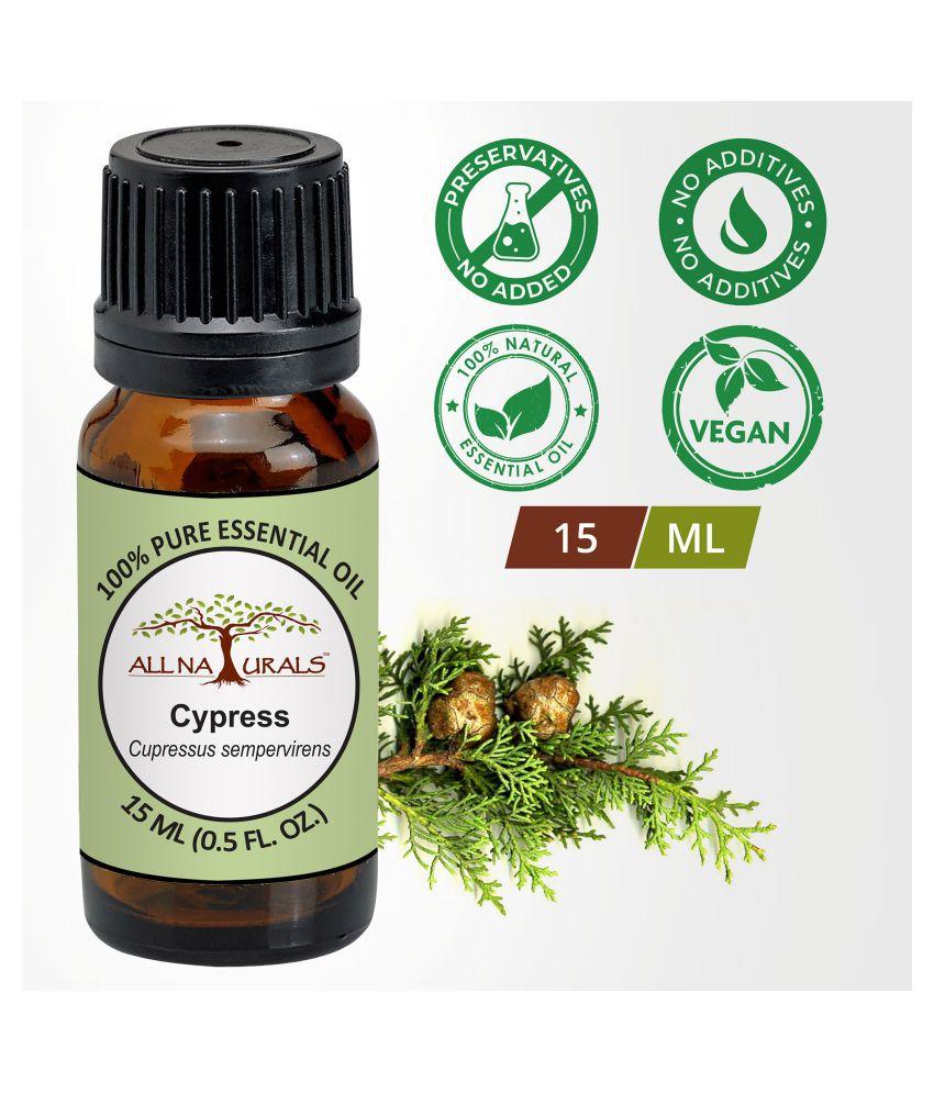 All Naturals Cypress Essential Oil 15 mL